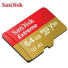 SanDisk Extreme PRO/tarjeta de memoria extrema 128GB 64GB 32GB velocidad de lectura hasta 100 MB/s microSDHC/SDXC UHS-I U3 V30 4K UHD