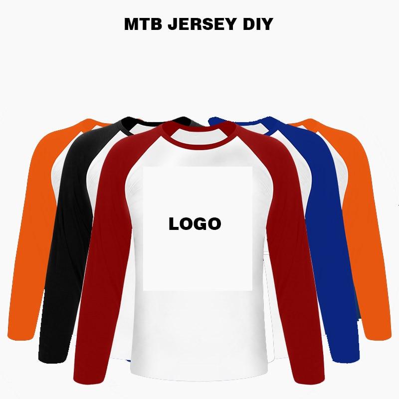 2019 Custom MTB Jerseys Personalized Customization Bicycle Team Clothing Personal DIY LOGO Downhill Jerseys Motocross Shirt