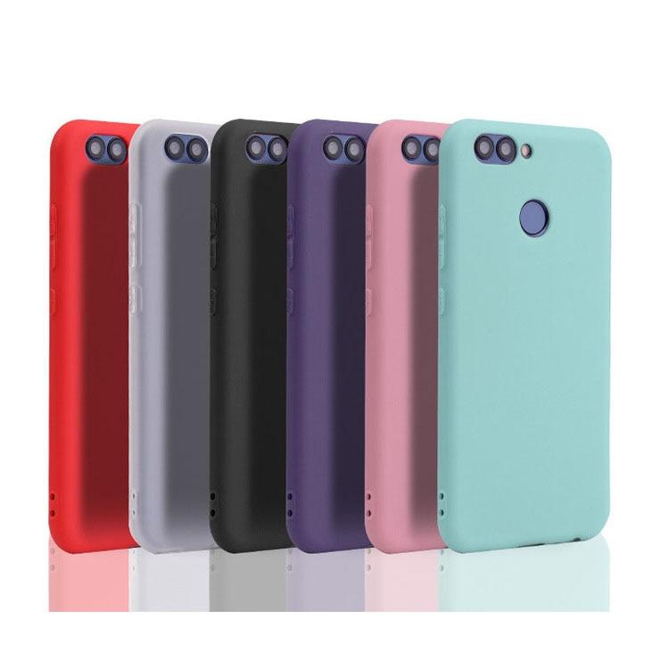 Funda inteligente Huawei P de 5,65 pulgadas, funda trasera de silicona suave de TPU para teléfono Huawei P Smart 2017, funda FIG-LX1 P, funda inteligente