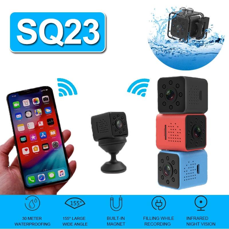 1080P HD secreto Mini cámara SQ23 SQ13 SQ12 SQ11 Camara Espia Oculta...