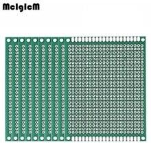 MCIGICM 100 pcs Double Side Prototype PCB diy Universele Printplaat 5x7 cm