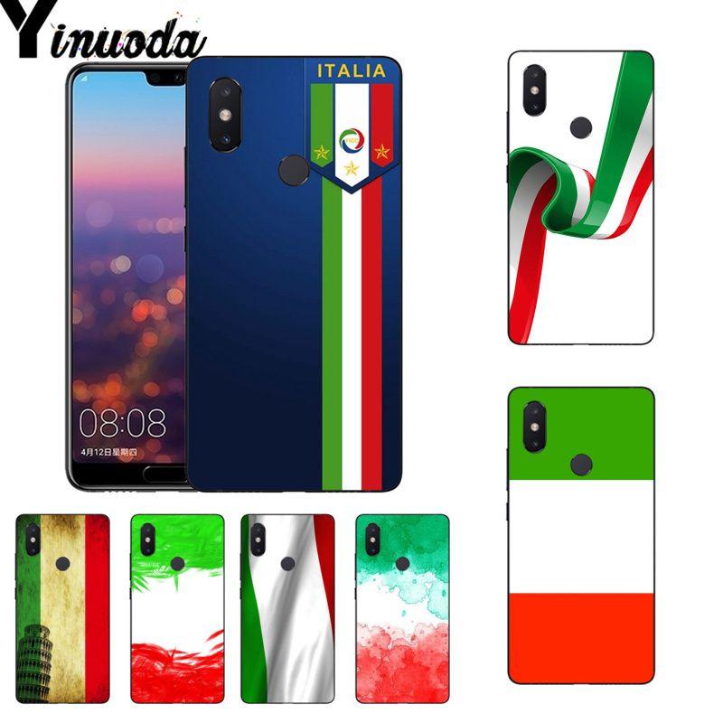 Yinuoda Italia Irlanda bandera estilo de funda pintada funda de teléfono para Xiaomi mi 6 mi x2 mi x2S Note3 8 8SE Redmi 5 5Plus Note4 4X Note5