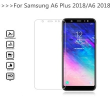 2 Pieces Screen Protector for Samsung Galaxy A6 2018 Glass Tempered Protective Film Glass for Samsun