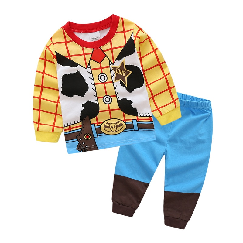 Kinder pyjamas kinder nachtwäsche baby pyjamas sets jungen mädchen tier pyjamas pijamas baumwolle nachtwäsche DS19