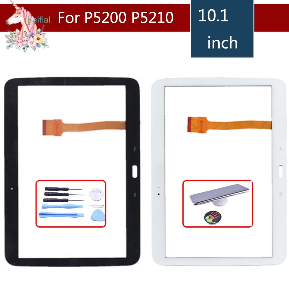 """Original 10,1 """"para Samsung Galaxy Tab 3 GT-P5200 GT-P5210 P5200 P5210 Digitalizador de pantalla táctil Panel Sensor Replacement"""