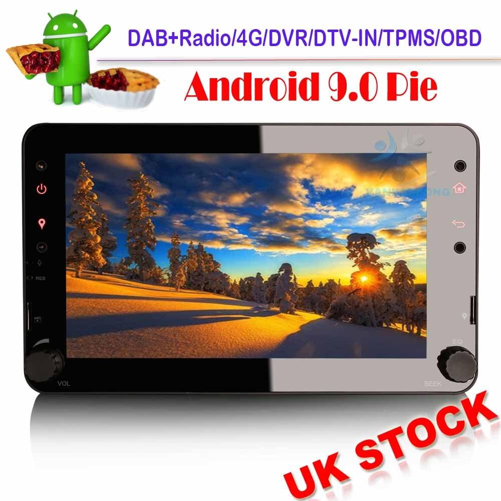 DAB + Autoradio Android 9,0 navegación GPS estéreo de coche para Alfa...