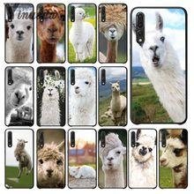 Yinuoda Lama Llama Alpacas Novelty Fundas Phone Case Cover for Huawei P9 P10 Plus Mate9 Mate10 Lite P20 Pro Honor10 View10