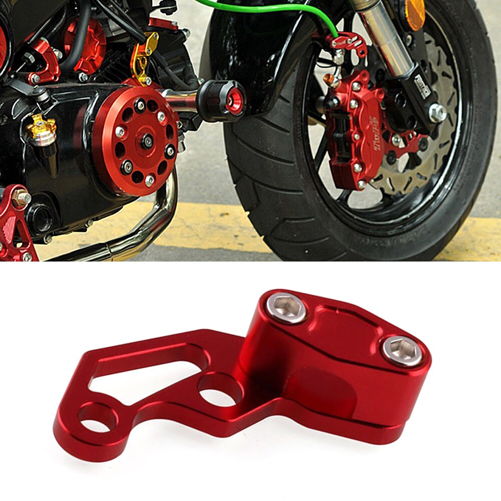 CNC Motorcycle Brake Line Clamps for YAMAHA MT07 R6 R3 MT 03/07/09 TMAX 500/530 R1 FZ6 MT09 XJ6 FZ1 XJ6 M109r Fazer Accessories