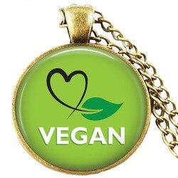 Dieta Vegan jóias, dieta vegetariana pingente, ir orgânica colar, colar de Herbívoros, ir vegan colar, dieta paleo colar