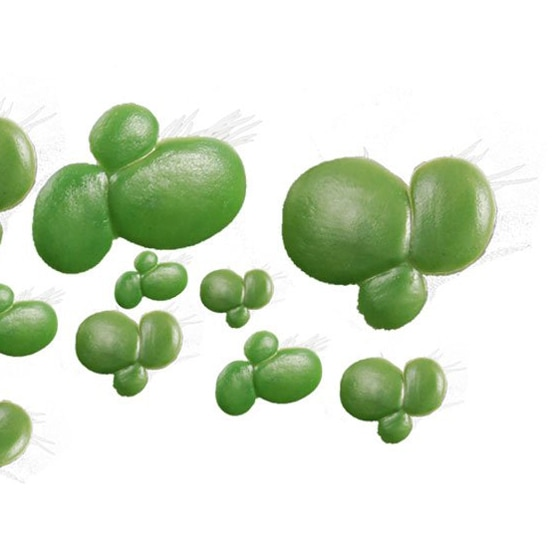 Tanque de peces COFA, plantas de Acuario, decoración de Acuario, patito Artificial flotante de plástico, Planta blanca verde