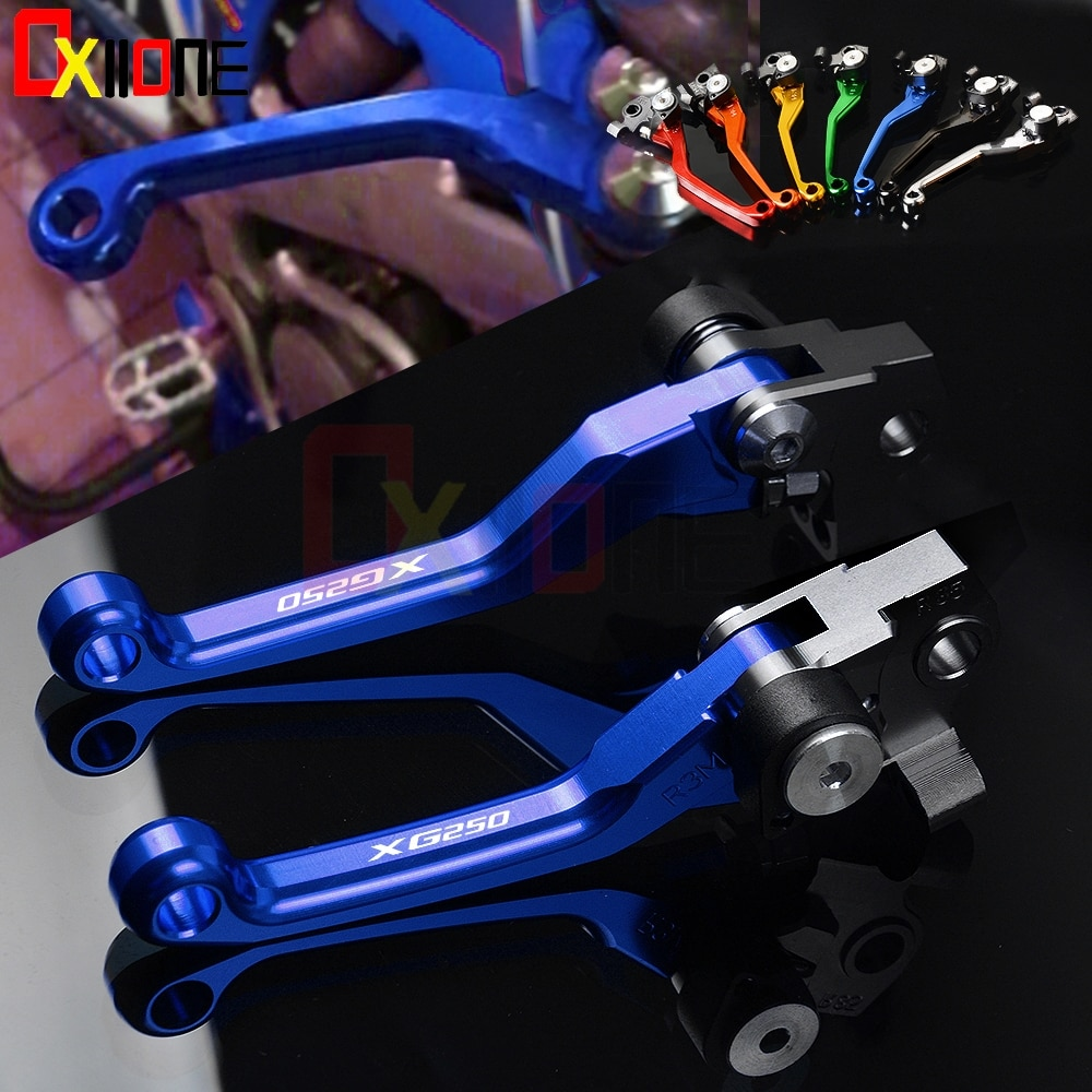 Motorcycle Accessories Pivot Foldable Brake Clutch Levers For Yamaha XG250 XG 250 TRICKER 2004 2005 2006 2007 2008 2009 2010