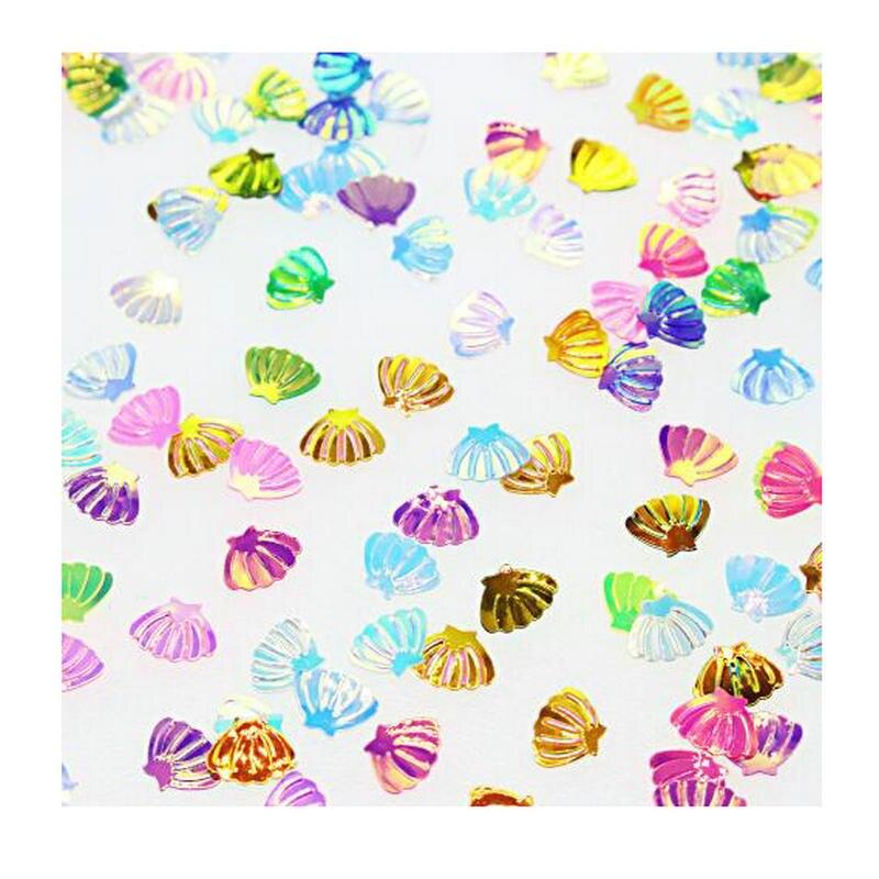 Mini accesorios de joyería de lentejuelas brillantes de concha de 20g, colgante DIY para decoración de uñas, abalorios hechos a mano, artesanía de resina, arte de copos ostentosos