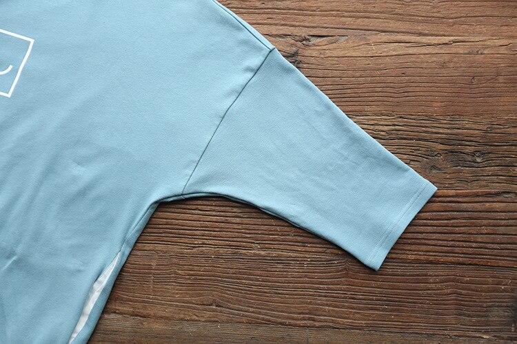 Maternity T-shirt Dress 100% Cotton Dress Clothes For Pregnant Women Dress Tops Long Sleeve Maternity dresses Pregnancy Clothes