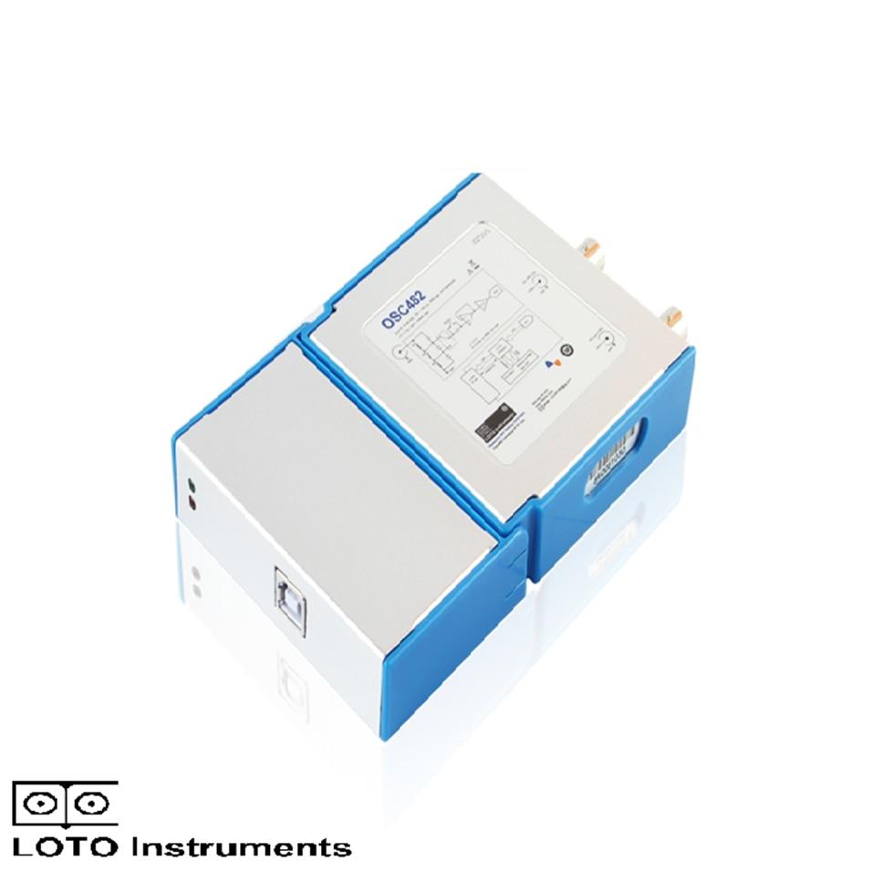 Двухканальный Виртуальный осциллограф для ПК OSC482 50M выборка 20M полоса пропускания PK 1008C 6022BL