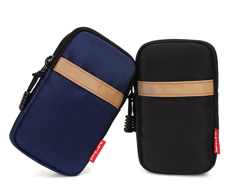 20 unids/lote Universal Oxford bolsa de teléfono celular Clip de cinturón bolsa cintura bolso caso cubierta para LG G4 H810 VS999 F500 para Huawei para Iphone