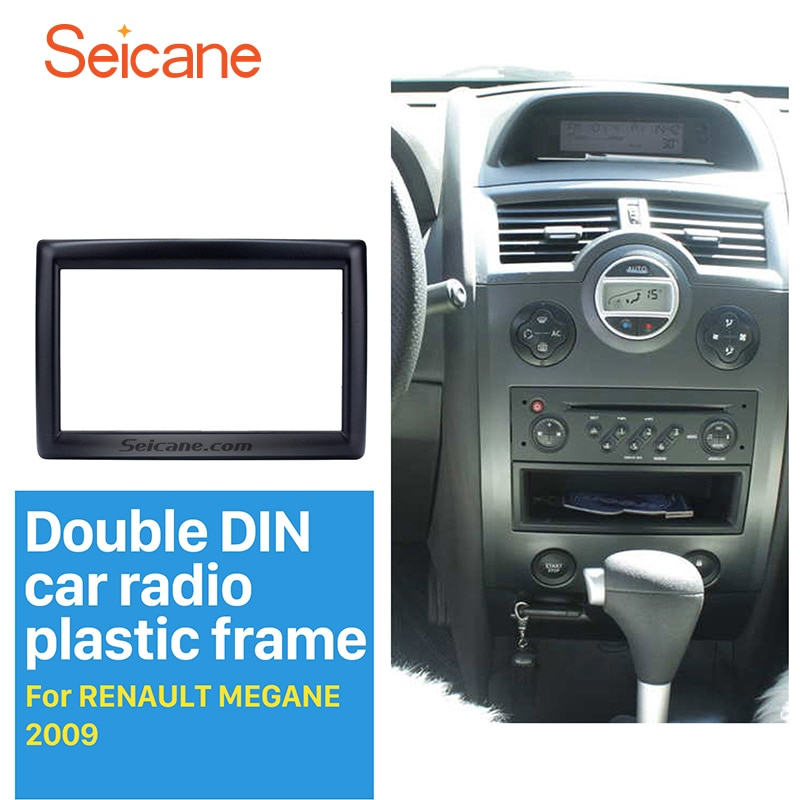 Автомагнитола Seicane, 2 Din, для RENAULT MEGANE, 2009