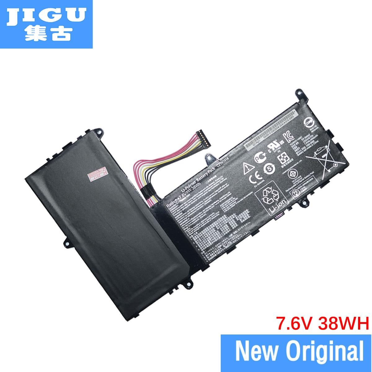 JIGU, batería para ordenador portátil, C21N1414 C21PQ91 CKSE321D1 para Asus EeeBook X205 EeeBook F205TA X205TA F205TA F205TA-1A F205TA-1B