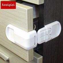 2pc/Retail Baby Security Multi Function Drawer Kids Safety Refrigerator Children Plastic Lock