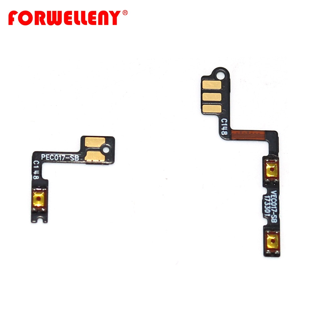 chenghaoran 50 100 pcs for iphone 4 4s new power volume switch key button replacement For oneplus 5T oneplus5T A5010 Power Switch On/Off Button Volume control Key Button Flex Cable