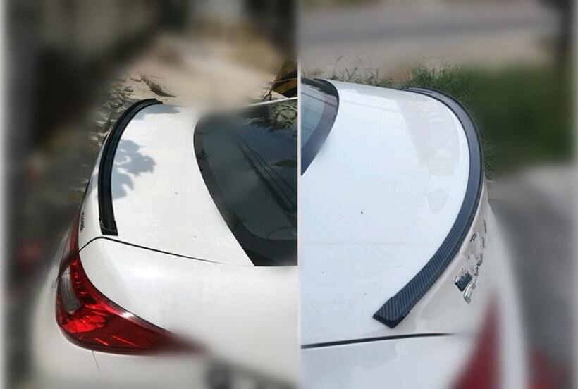 Estilo de coche cola etiqueta engomada accesorios pegatinas para Honda Accord FIT CITY CRV cívica Vezel JAZZ HRV piloto Crosstour Accesorios