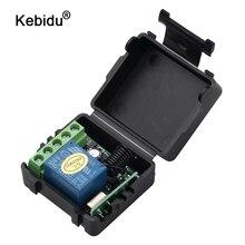 kebidu 433Mhz Wireless Remote Control Switch AC 220v 110V 120V 1CH Relay Receiver Module + RF 433 Mhz Remote Controls