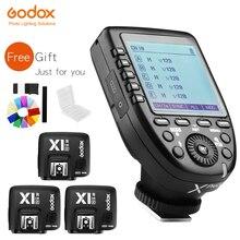 В наличии! GODOX XPro N i TTL 2,4G беспроводной высокоскоростной синхронизатор X system Trigger + Godox 3x X1R N приемник для камер Nikon