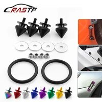 4 pcs of pack car truck spike front bumper hatch lids quick release fasteners nuts bolt alloy quick release fasteners kit qrf015