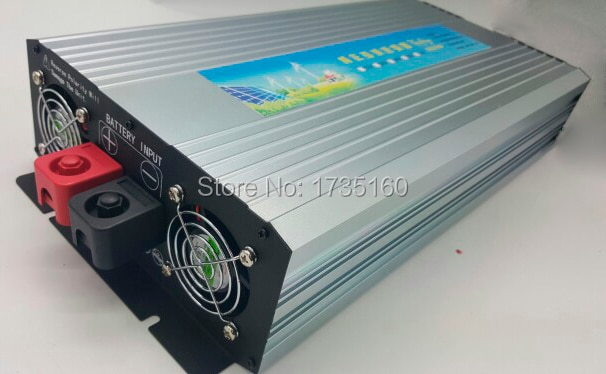 Pura inversor de onda sinusoidal CE RoHS SGS aprobado inversor de 12 voltios 24 voltios 48 voltios para el hogar 3000W inversor de onda sinusoidal pura
