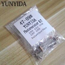 50 stücke (5value * 10 stücke) LDR Fotowiderstand diy kit für GL5506 GL5516 GL5528 GL5537 GL5539 Freies shippng