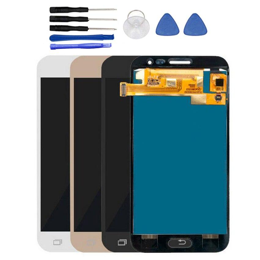% 100% test edilmiş Samsung Galaxy 2016 için J2 J210 J210FN J210F J210Y J210M LCD ekran + dokunmatik ekran Digitizer meclisi TFT lcd