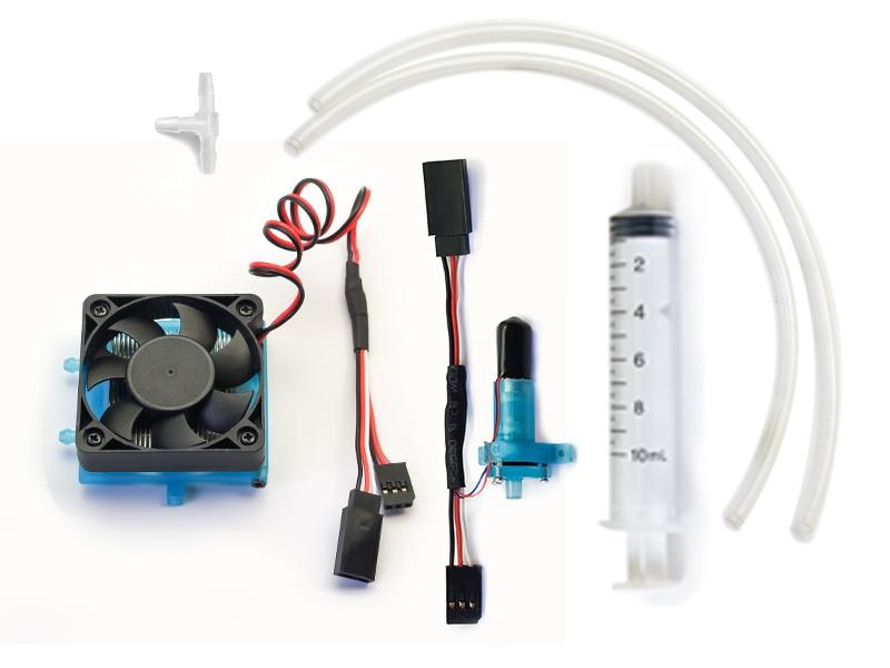 Frete grátis sistema de radiador de água-refrigeração malfuncional para carro rc ou modelos de avião de asa fixa