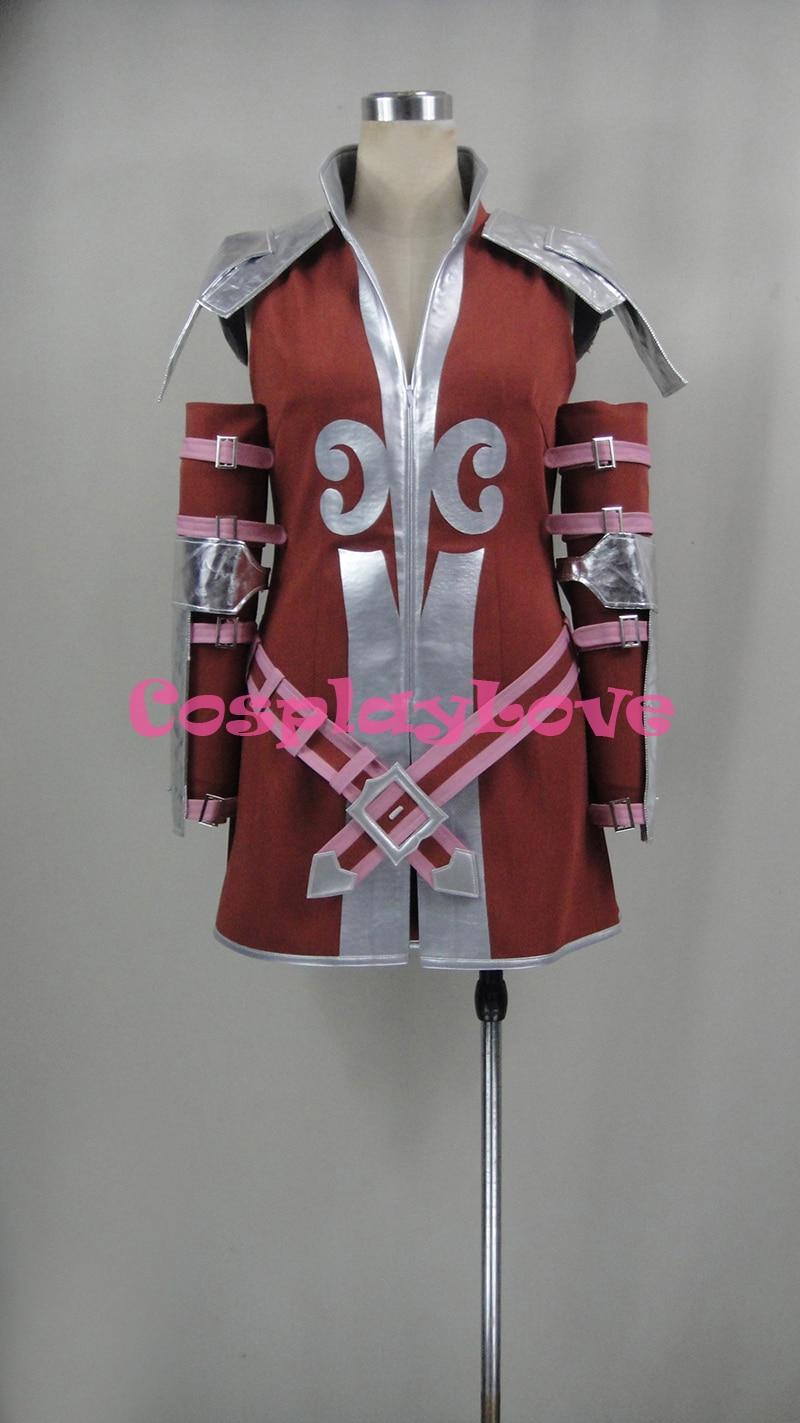 Fire Emblem Awakening Tiamo Cordelia Cosplay Costume Halloween Christmas Costumes