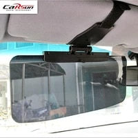 2018 new car windshield sun shade car accessories goggles auto retractable side sunscreen shade car sunvisor black sd 2302