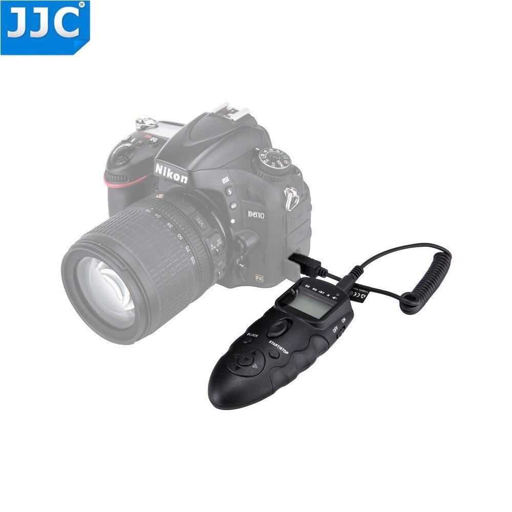 JJC Wired IR Controle Remoto Infravermelho para NIKON DSLR Camera Timer D7500/D600/Df/D610/D750D3100/D3200/D3300/D5000/D5100/D5500/Df/P7800