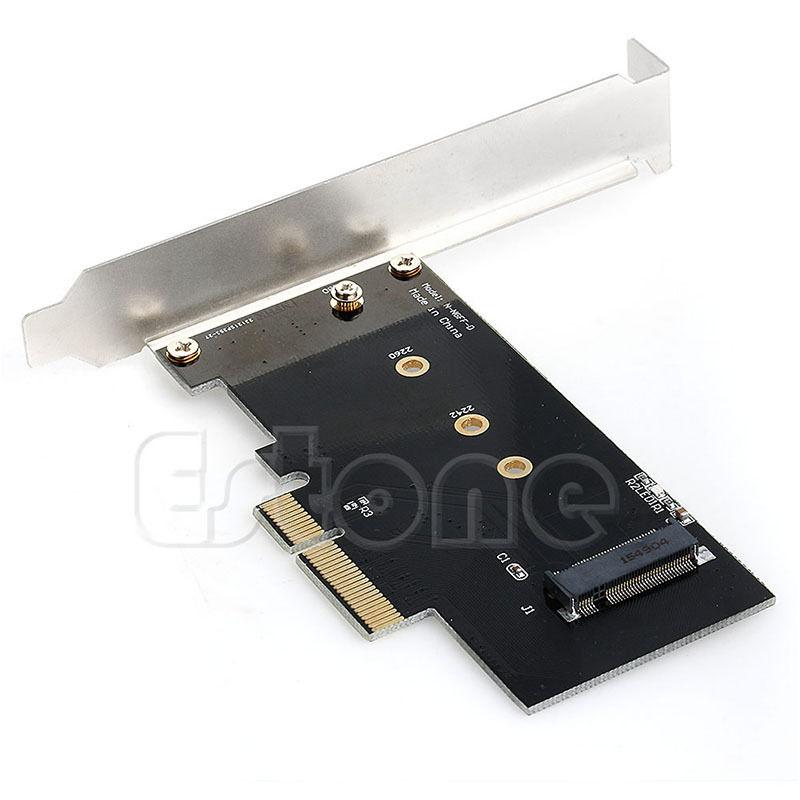 Карта адаптера для PCI-E x4 для M.2 NGFF SSD XP941 SM951 M6E PM951 950 PRO SSD
