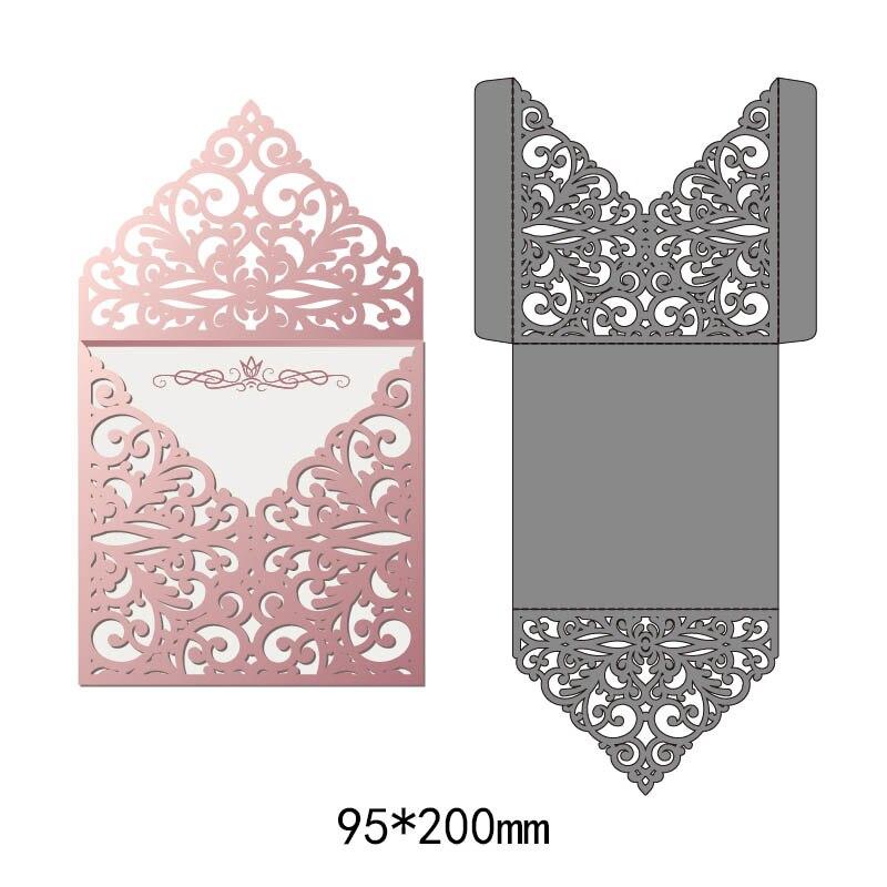 2019 neue Stil Spitze Blume Grenze Metall Schneiden Stirbt Schablonen für DIY Scrapbooking Dekorative Handwerk Präge Papier Karten Cut
