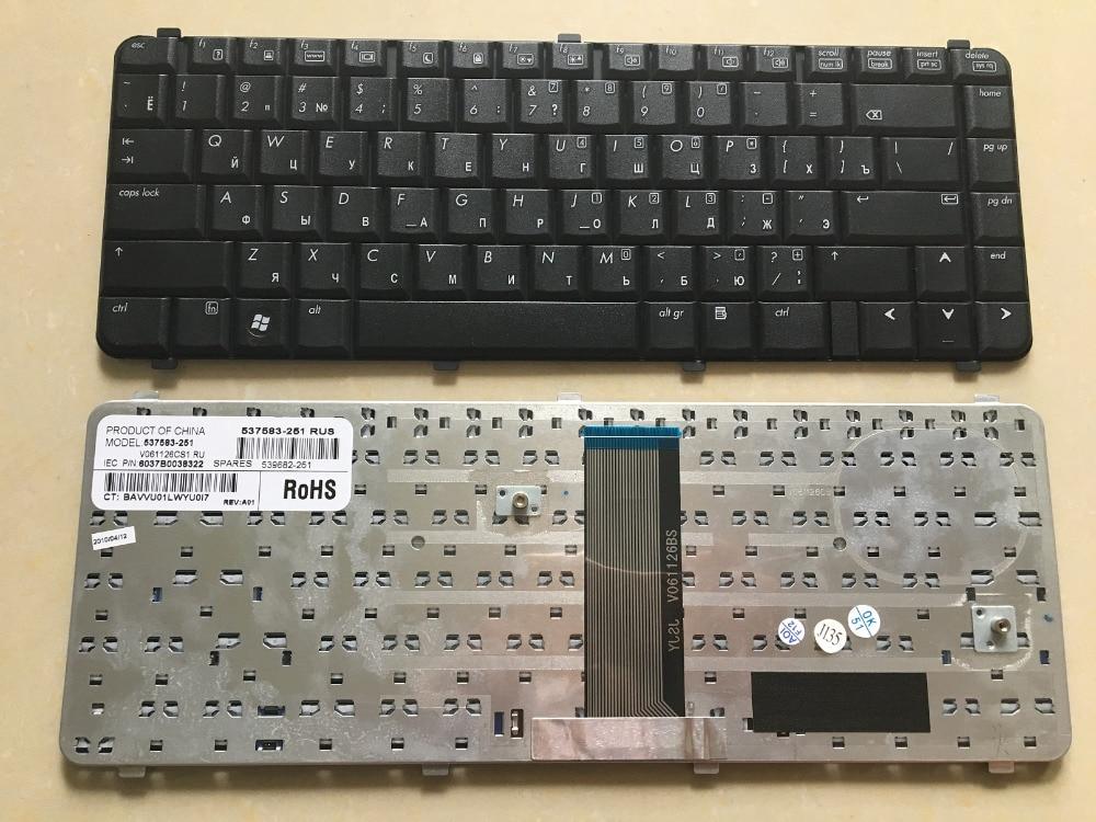 SSEA SSEA Brand New laptop Russian Keyboard for HP Compaq CQ511 511 515 516 610 615 CQ510 CQ610  RU Keyboard
