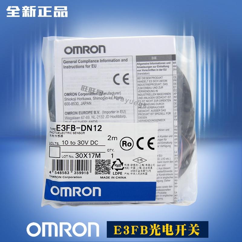 Original neuf Omron interrupteur dalimentation E3FB-DN11 E3FB-DP11 E3FB-DN12 E3FB-DP12 E3FB-RN11 E3FB-RP11 E3FB-TN11 E3FB-TP11