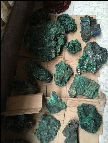 500g Natural malaquita piedra Original de piedra roca minerales venta al por...