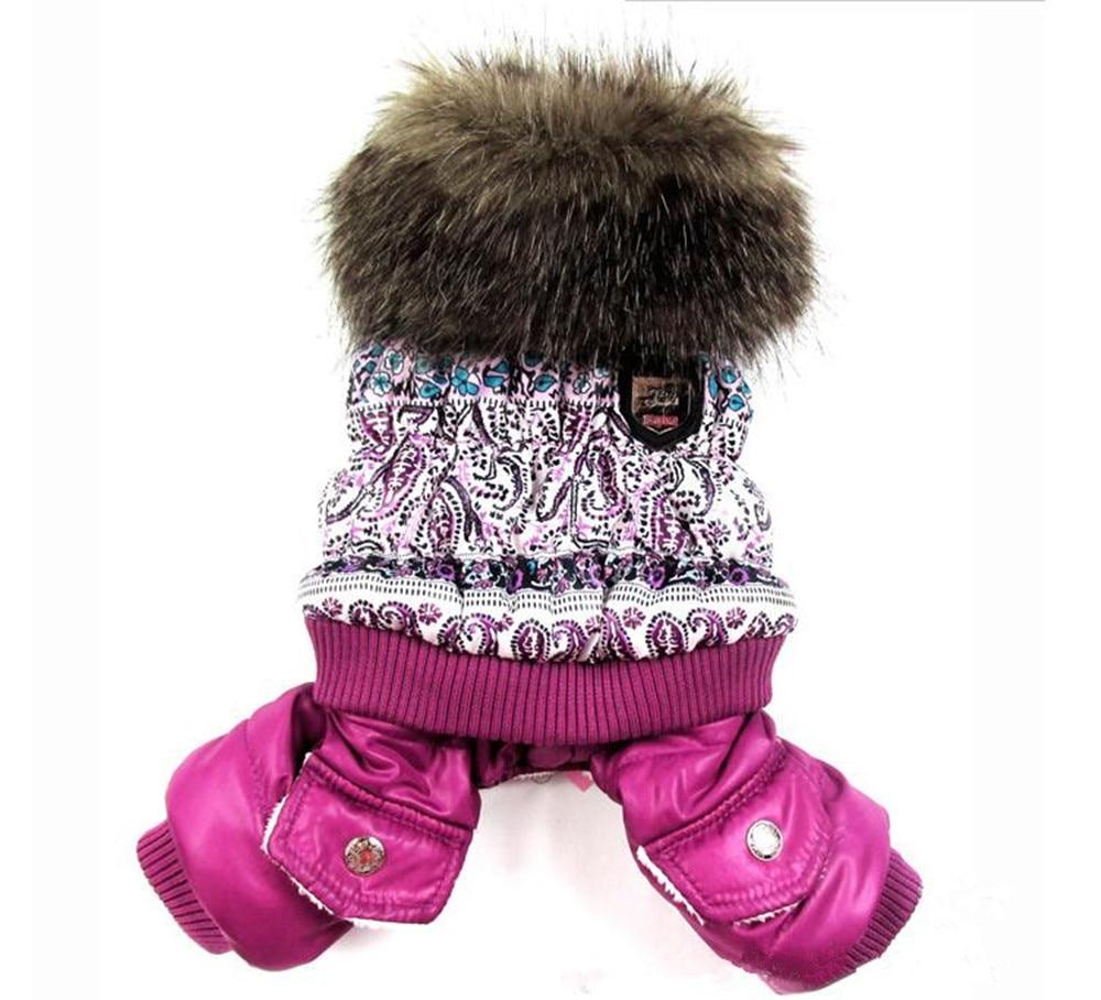 New fashion Winter Pet Dog Cat Cotton Clothes Warm Jacket Jumpsuit Hoodie Coat Dog clothes puppy dog jacket small pet clothes
