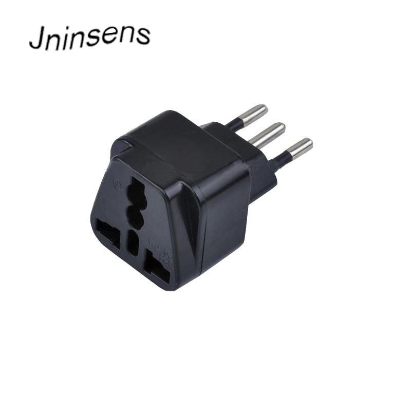 Universal Travel Adapter Electric Plugs Sockets Converter 3 Pin Brazil AC Wall Charger Power Plug UK US EU AU to Brazil Adapter
