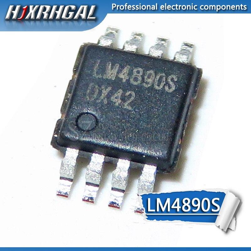 10 PCS LM4890S MSOP8 LM4890 MSOP SMD neue und original HJXRHGAL