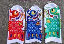 Carpa, pez, bandera manga de viento, apanese Koinbori Koi Nobori, carpa, calcetín de viento, cometa de pez, decoración de pared, 15cm 20cm 25cm