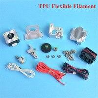 All Metal Titan Aero Extruder with V6 heatsink Full Kit for 1.75mm TPU Flexible Filament Prusa I3 MK2 3D printer