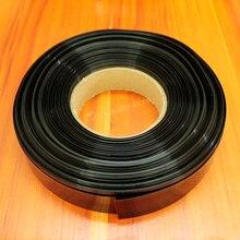 10 m/lot noir 18650 PVC film thermorétractable thermique pour PVC manchon thermorétractable batterie polymère de diverses batteries au lithium