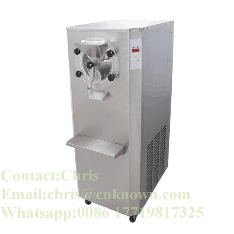 Máquina de helado duro comercial 25L/h congelador de gran capacidad