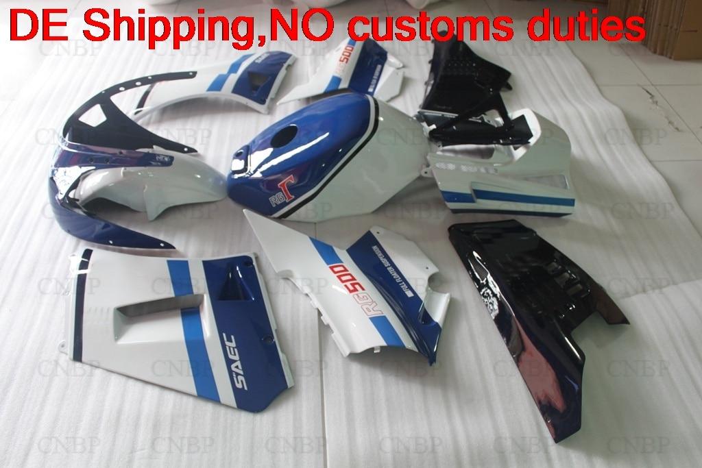 87 RG500 RG400 Abs Fairing Kit  RG 500 400 1986 Motorcycle Fairing RG 500 400 1985 Fairing 1985 - 1987