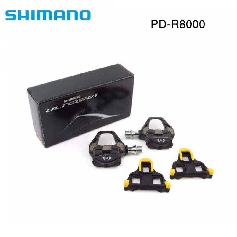 Shimano Ultegra PD-R8000 Strada TT Triathlon del Carbonio Della Bici Pedali & SM-SH11 Tacchetti R8000 pedale
