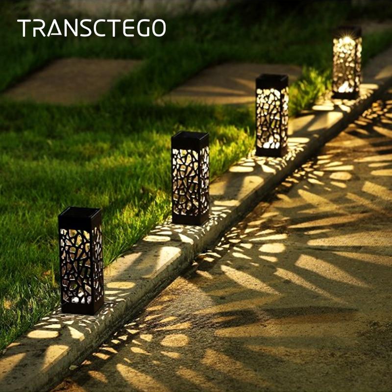Led Solar Light For Garden Decoration Lawn Lamp Outdoor Home Pathway Bulb Light Sensor Waterproof Solar Street Lamp Solar Lights