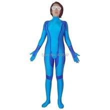 Metroid zéro Mission Samus Aran super-héros Costume Halloween fête Cosplay Zentai Costume CSC3214
